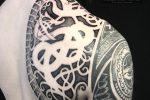 godmask urnes viking nordic tattoo