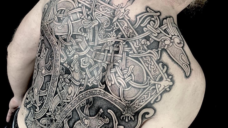nordic mjolnir tattoo